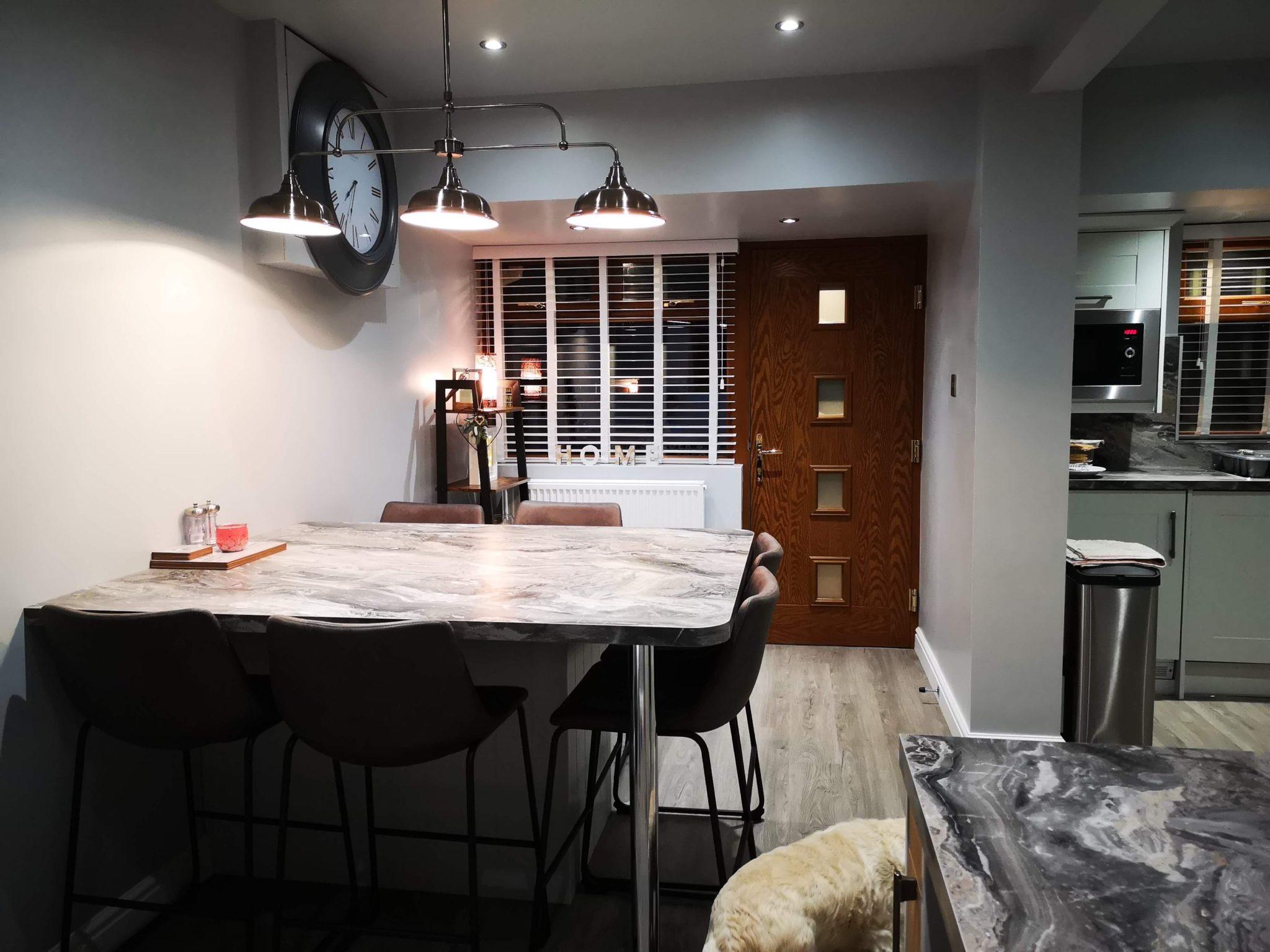 Garage Conversion to Kitchen/Diner in Bedworth